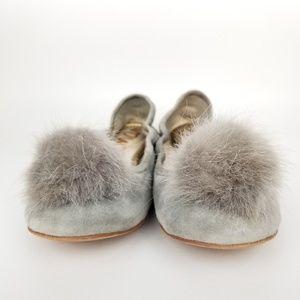 Shoes - Sam Edelman | Farina | ballet flat | pom poms